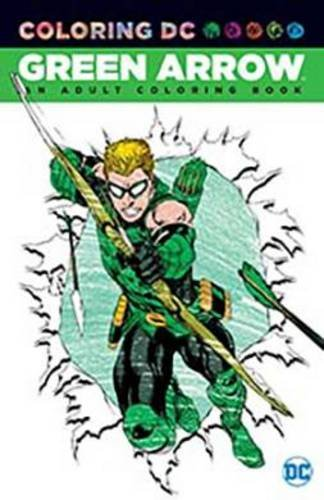 Green Arrow Adult Coloring Book product image