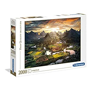 Clementoni 32564 High Quality Collection Puzzle View Of China 2000 Pezzi Made In Italy Puzzle Adulto