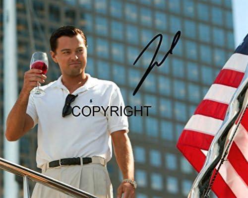 con autografo stampato e certificato Fotografia autografata di Leonardo Di Caprio in edizione limitata