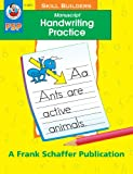 Manuscript Handwriting Practice, Schaffer, Frank Publications, Inc. Staff and Vicky Shiotsu, 0867349190