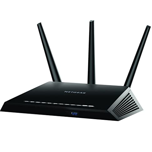 Netgear R7000-100INS Nighthawk AC1900 Dual Band WiFi Gigabit Router (Black) Routers at amazon