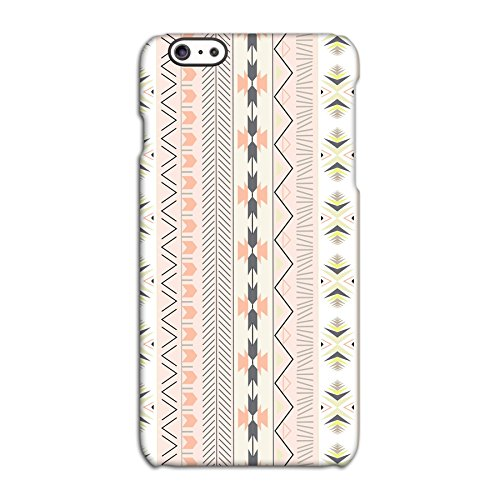 Pale Pink Tribal Patterned Deflector Back Case for Apple iPhone 6 6S Plus