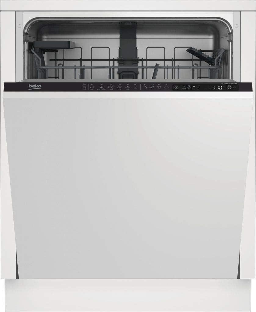 Beko lavavajillas integrable din26421 media carga: 295.72: Amazon ...
