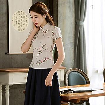TaylorRoco Literatur und Kunst der chinesischen Kleid Druck Jacke ...
