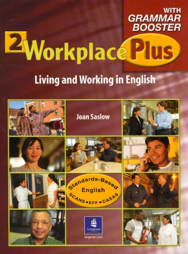 Workplace Plus 2 with Grammar Booster Audiocassettes (3) (Workplace Plus: Level 2 (Audio)) by Brand: Pearson Education ESL
