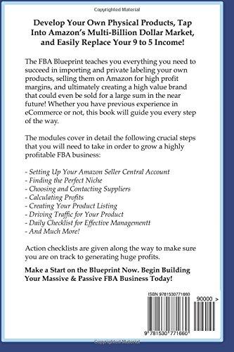 Amazon fba amazon fba blueprint a step by step guide to private amazon fba amazon fba blueprint a step by step guide to private label build a six figure passive income selling on amazon amazon andrew louis malvernweather Gallery
