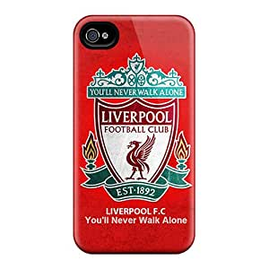 Durable Cell-phone Hard Cover For Iphone 4/4s (IXK6709owap) Provide Private Custom High Resolution Incredible Liverpool Pictures