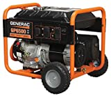 – Generac GP6500 Portable Generator – 389cc OHV, 8125 Surge Watts, 6500 Rated Watts, Model# 5940 For Sale