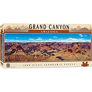 MasterPieces National Parks Panoramic Jigsaw Puzzle, Grand Canyon, Arizona, Photographs by Christopher Gjevre, 1000 Pieces