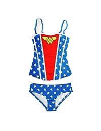 DC Comics Wonder Woman Women's Corset with Panty Set