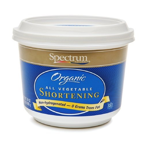 Spectrum Naturals Organic All Vegetable Shortening 24 Oz (Pack of 2)