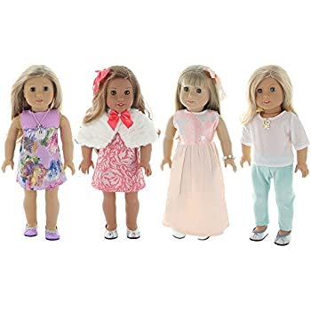 Amazon Com Summer Holiday 4 Outfit Package Doll Clothes