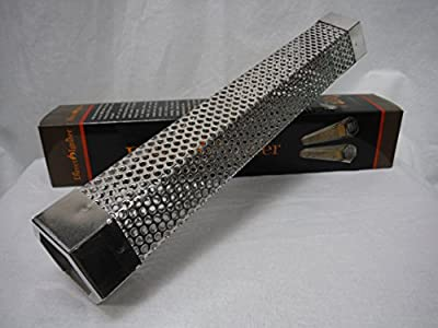 """12"""" Hexagon Wood Pellet Smoke Tube. Hot Or Cold Smoke. Works With All Bbq's. Usa"""