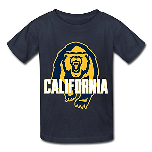 Price comparison product image Kazzar Kid's Cal Berkeley Golden Bears Logo Round Collar T Shirt S