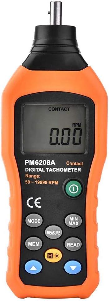 Peakmeter Pm6208a Drehzahlmesser Digitaler Motordrehzahlmesser Tester Drehzahlmesser Auto