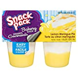 Snack Pack Pudding Lemon Meringue Pie - 48 Cups Total - (12 x Pack of 4)