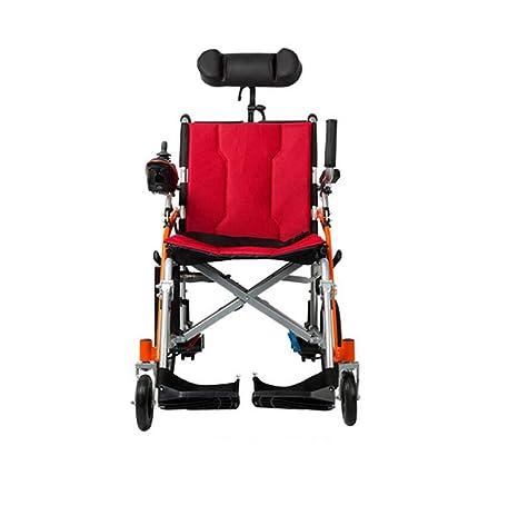 GJX Scooter âgé portátil, Bicicleta de aleación de magnesio, Silla de Ruedas eléctrica handicapé