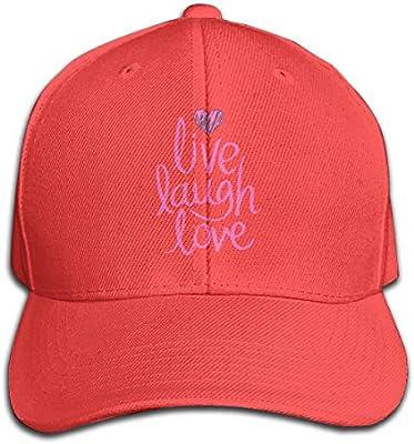 Osmykqe Live Laugh Love Ligero, Transpirable, al Aire Libre, Run ...