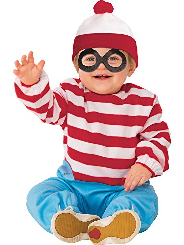 Rubie's Child's Where's Waldo Onesie Costume, Toddler