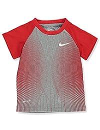 Nike Baby Boys' Dri-Fit T-Shirt - dark heather gray, 12 months