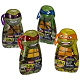 Teenage Mutant Ninja Turtles 3-in-1 Body Wash, Shampoo and Conditioner 4-Pack (One of each Character)