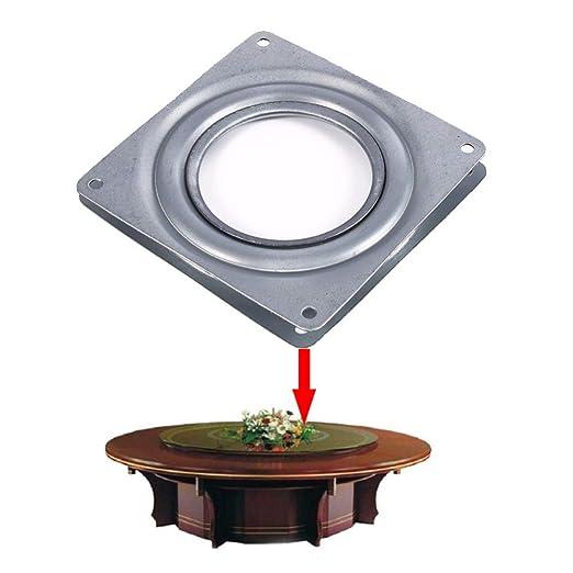 QGT Furnitures Accessories - Juego de 2 Tocadiscos galvanizados de ...