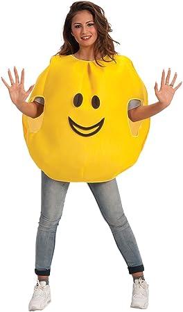 Carnival Toys - Disfraz emoticono sonrisa en bolsa, talla única ...