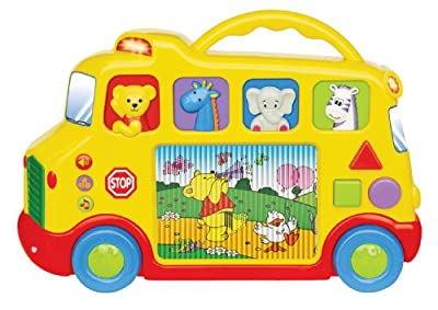 Small World Express Preschool Toys Activity TV Bus from Small World Toys