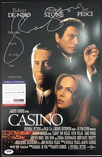 Sharon Stone Autographed Signed 11X17 Casino Movie Poster Photo PSA/DNAWitness Coa Pass - JSA Authentic Memorabilia from Sports Collectibles Online
