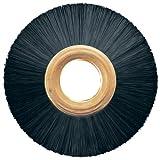 PFERD 84343 Power Copper Center Non-Wire Wheel Brush, Nylon Bristles, 3'' Diameter, 0.016'' Wire Size, 1/2'' Arbor, 20000 Maximum RPM, 1'' Trim Length