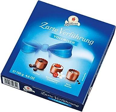 Halloren - Dulce tentación - Bombones de chocolate con leche ...