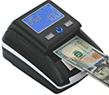 Portable 4 Way Insertion Counterfeit Bill Detector With Battery
