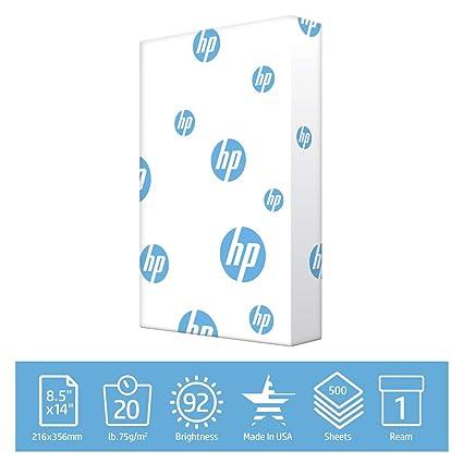 Hewlett-Packard 112150R - Papel para impresoras HP (8,5 x 11 ...