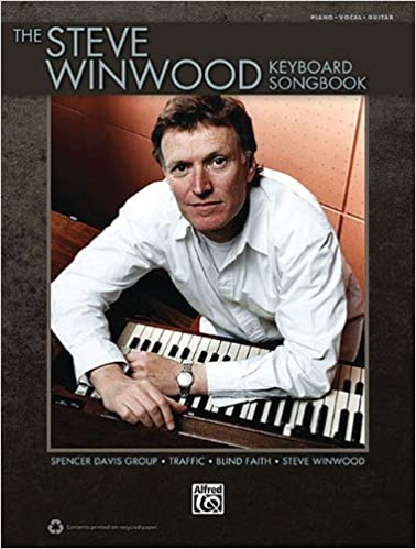 Book The Steve Winwood Keyboard Songbook