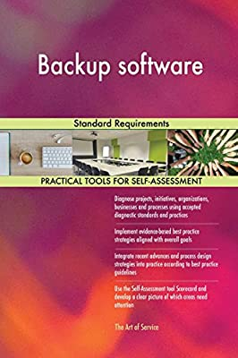 Backup software Standard Requirements from 5STARCooks