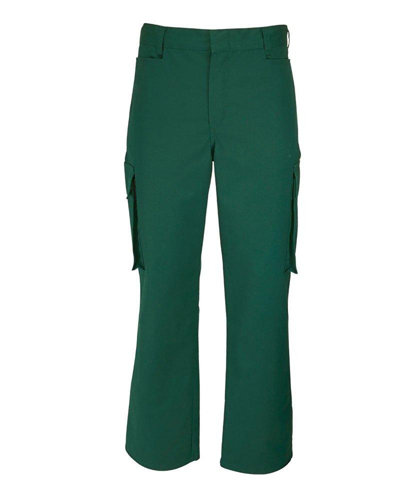 Alexandra STC-NM515BO-50T Mens Cargo Trouser Bottle Green Tall Size: 50 67/% Polyester//33/% Cotton Plain