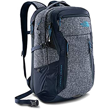 The North Face Router Transit Men s Laptop Backpack Urban Navy Heather Blue fa242716fae64