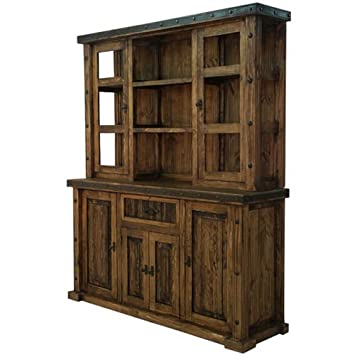 Reclaimed Wood China Hutch