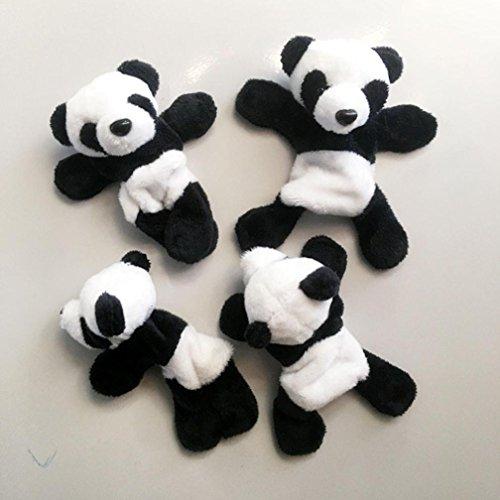 DEESEE(TM) New1Pc Cute Soft Plush Panda Fridge Magnet Refrigerator Sticker Gift Souvenir Decor by DEESEE(TM)_Home (Image #1)