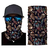Riding Sport Head Scarf Neck Windproof Face Mask Outdoor Sun Protection Cos Headband (E)