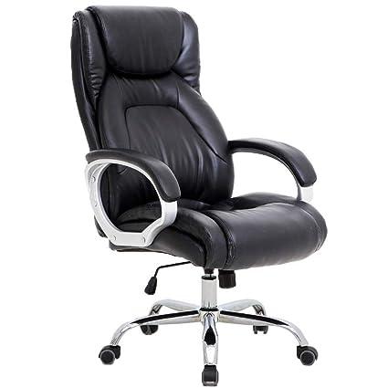 Groovy Amazon Com Luxury Big And Tall Executive Office Chair Inzonedesignstudio Interior Chair Design Inzonedesignstudiocom