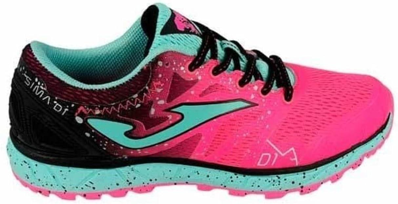 Sportime2 - Zapatillas de Running de Material Sintético para Mujer Rosa-Nero: Amazon.es: Zapatos y complementos