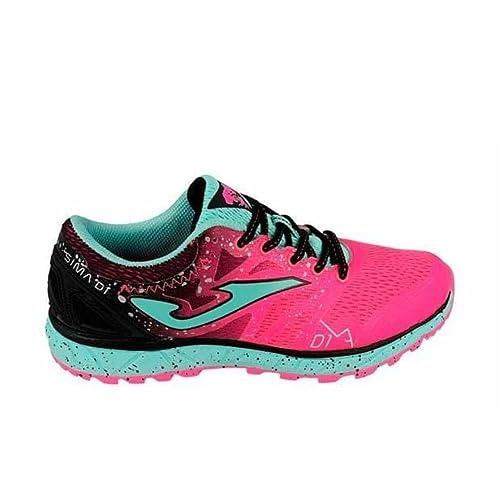 Joma Sima Lady, Zapatillas de Trail Running para Mujer, Rosa (Fucsia 810)