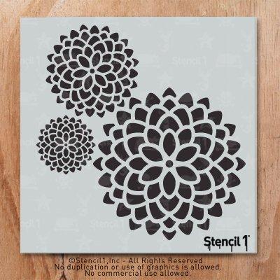 Stencil1 11''X11'' Stencil-Mum 3