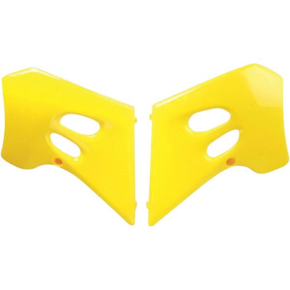 Ufo Yellow Radiator Shrouds Fits Suzuki Rm125 Rm250 1993-1995