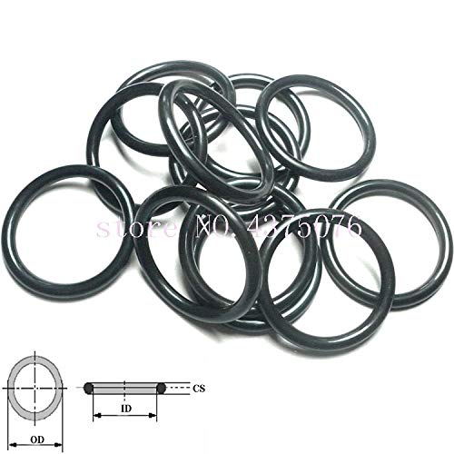 Black NBR Rubber Ring Washer O-Ring Oil Seal Gasket - IDThickness Gimax 470 475 480 487 492 495 500 505 510 515 520 525 530 5357 Size: 510 7