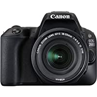 Canon EOS 200D 24.2MP Digital SLR Camera with EF-S 18-55 mm is STM Lens and EF-S 55-250 mm is STM Lens/Camera Case