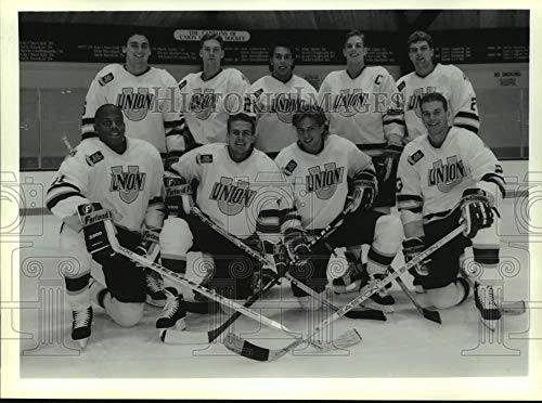 Vintage Photos 1993 Press Photo Union College Hockey Team Photo, Schenectady, New York