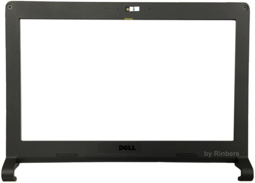 Rinbers Dell New Chromebook 11 Gen 2 3120 P22T LCD Middle Frame Front Bezel Touch Version BLACK DP/N 0WFFTC