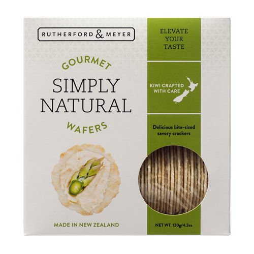 Gourmet Simply Natural Wafers (4 pack) by Rutherford & Meyer